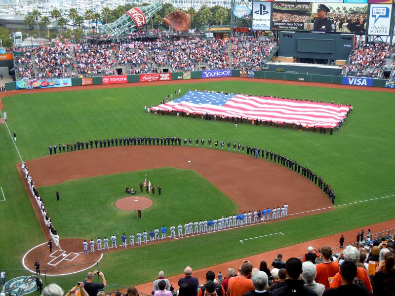 San Francisco Giants Tribute on 911