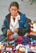 Dollmaker and her Wares-Guanajuato, Mexico