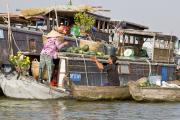 Floating Market - Phenom Penh, Cambodia