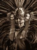 Native American Indian with Headdress #2
