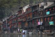 Silt Houses At Fenghuang Ancient Town, China