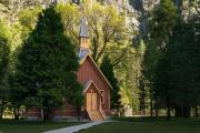 In 1973, the Yosemite Chapel was listed on the prestigious National Register of Historic Places  based on being a particularly fine example of simple architecture.