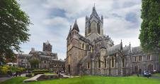 Christ Church Cathedral panorama