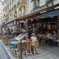 Morning Coffee in Paris