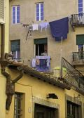 Laundry Day - Lucca, Italy