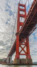 Leaving San Francisco Bay by going under the Golden Gate Bridge and out to sea is a thrill for the more adventurous tourist.