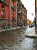 A Rainy Day in San Miguel de Allende