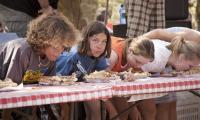 Coming Up for Breath-Pie Eating Contest,Gravenstein Fair