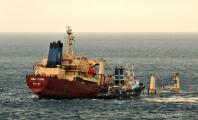 Freighter Flounders off Gibraltar