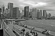Sydney - The Circular Quay Viewed from the Opera House