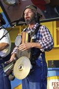 Washboard Steve of the Rock Bottom Boys Band