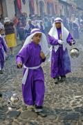 Junior Lantern Carriers at Holy Week Procession, Church La Merced, Antigua, Guatemala