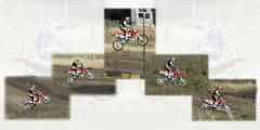 Motocross Jump - Take Off to Landing