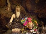 Shrine to Nara, a Hindu rishi, who guards the fish cave, Mae Hong Son, Thailand